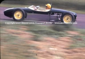 LOTUS 18 Trevor Taylor Formula Junior 1960 maybe Oulton Park